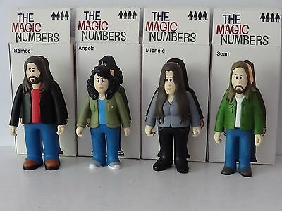 The Magic Numbers Boxed Set Of 4 Figures Pete Fowler Playbeast Fwlr0019 Ltd 1000