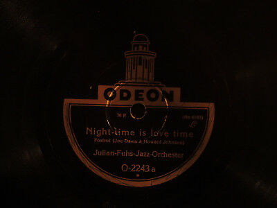 LP Odeon Night time is Love time Julian Fuhs Jazz Orchester O-2243a