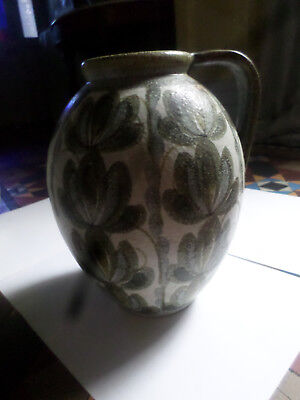 Denby, Glyn Colledge Glazed Stoneware Very Large Jug with Handle