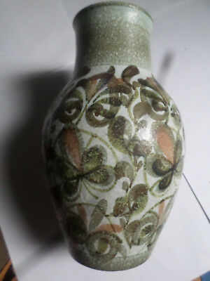 Denby Glyn Colledge Glazed Stoneware Vase, Signed