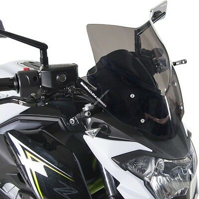Barracuda Fairing Aerosport Smoke Kawasaki Z 650 2017 Sport Obscured Windscreen