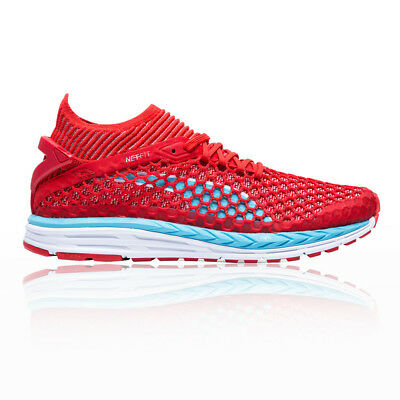 4fbaa2ae97b666 Puma Femmes Rouge Speed Ignite Netfit Chaussures De Course À Pied Baskets  Sport