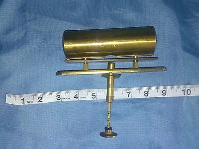 Antique brass Bell Receptionist Desk Door Cabinet Pull and release knob Rare