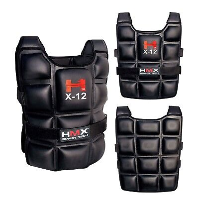 12 Kg Weighted Vest Adjustable Size Crossfit Mma Strength Training Running Sport