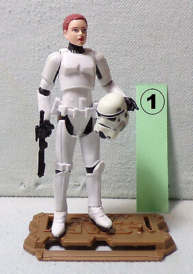 JES GISTANG 1 female STORMTROOPER Joker Squad Star Wars - Legacy Collection 2009