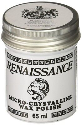 Renaissance Wax 65ml Protects Furniture Leather Marble Metal Paintings No Stain