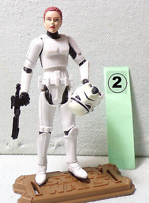 JES GISTANG (2) STORMTROOPER Joker Squad Star Wars - Legacy Collection 2009