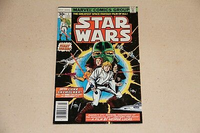 Marvel Star Wars Comic Book #1 July 1977 (30 cent cover)