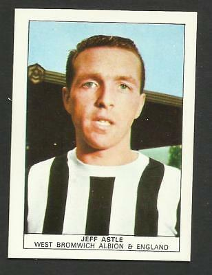 Nabisco Foods Footballers Cards #16 Jeff Astle West Bromwich Albion 1970