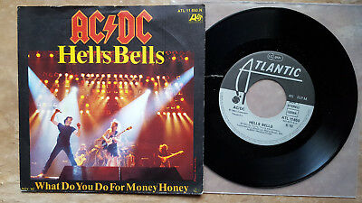 AC/DC - Hells Bells/What Do You Do For 7'' NEAR MINT D ATLANTIC 11650