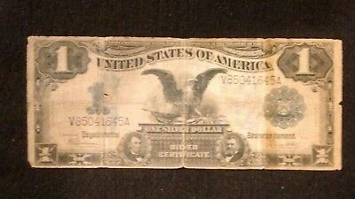 1899 Large one $1 Dollar bill silver certificate
