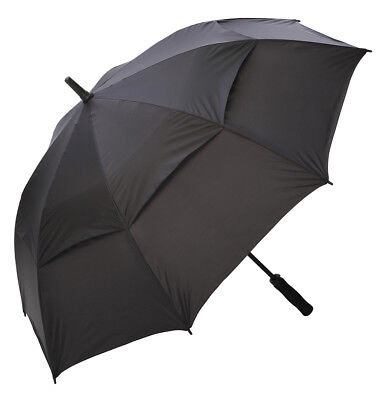 Mens full size automatic open wind vent  golf umbrella 6 colours available - NEW