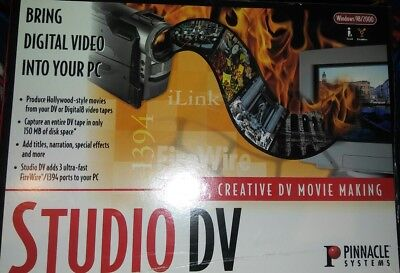 NEW Pinnacle Systems Studio DV (old stock)