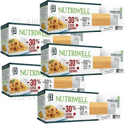 3x 500g Spaghetti Low Carb, NUTRIWELL, CiAO, Nudeln, wenig Kohlenhydrate