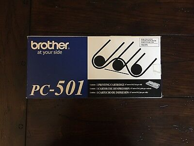 Brother PC501 Thermal Transfer Print Cartidge, Black