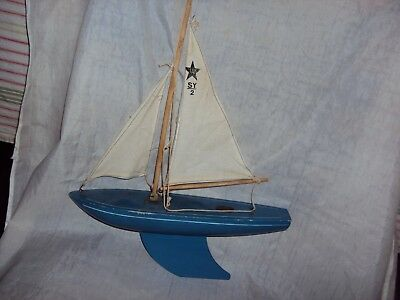 Vintage Birkenhead Sy-1 Star  Yacht Sail Boat Made In England