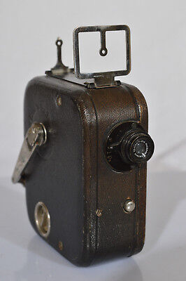 Pathe Pathex Mini Movie Camera - ANTIQUE - FRENCH - NICE CONDITION !!