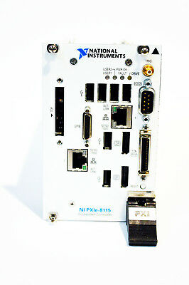 National Instruments PXIe-8115 PXIe, 2.5 GHz Dual-Core Processor PXI Controller