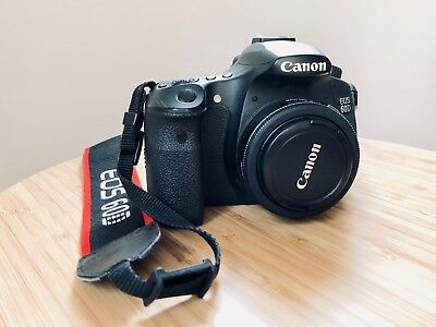 Canon EOS 60D 18.0MP Digital SLR Camera with Canon EF 40 mm f/2.8 STM Lens