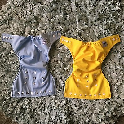 Baby City Cloth Insert Diapers Lot Of 2