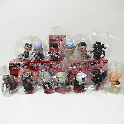 Berserk Mini Figure Collection Complete Set Of 13 Guts Griffith Casca Femto Puck