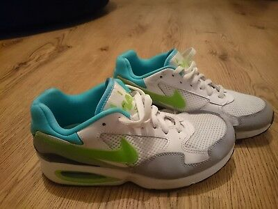 Nike Air Max ST white,blue and green, size 5.