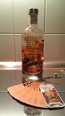 Absolut Vodka - INDIA - 750ml mit TAG - mint condition
