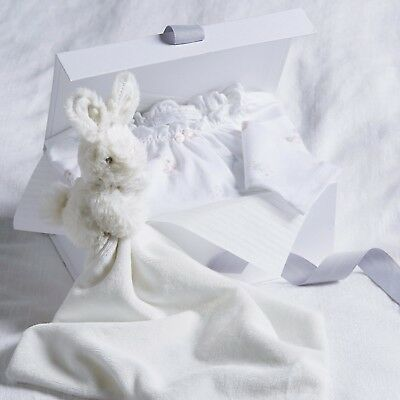 The Little White Company Baby's Sweet Pea Gift Set 0-3 Months - RRP: £40