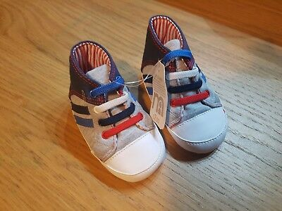 Brand New With Tags Baby Boys Pram Shoes