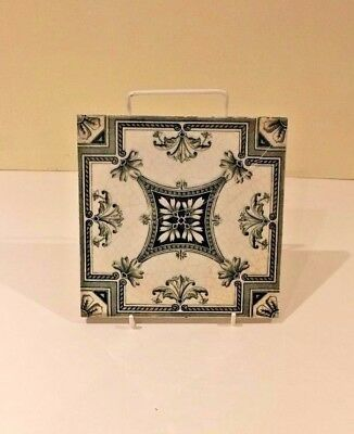 Victorian Transfer Printed Tile