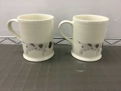 NEW Set of 2 - Fenella Smith SPANIEL Dog Mug Designed In England - new With tags