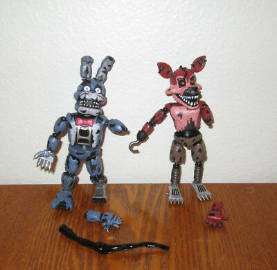 Funko FIVE NIGHTS AT FREDDY'S articulated Action Figures Nightmare Bonnie Foxy