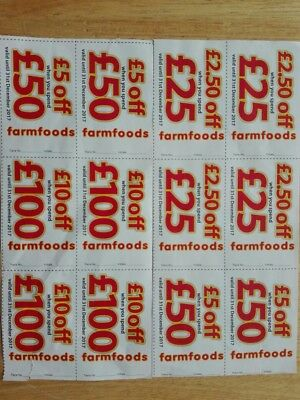 Farmfoods Money off Vouchers Coupons £70 off total