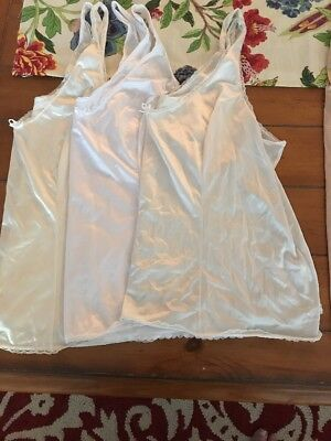 Lot Bundle Of Plus 2x Camisoles And Slips Free Shipping $14