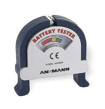 Simple Battery Tester - AA, AAA, C, D & 9V