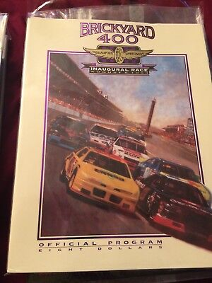 NASCAR Indy Car Race Programs Rare Awesome Collectors Items