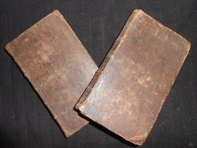 Clarissa or the History of a Young Lady 1748-1st Samuel Richardson, Volumes 1/2