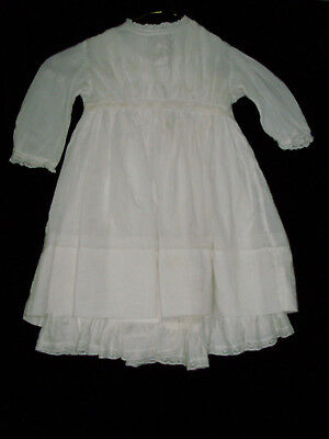 2da6ccb61b02 VTG. BABY DRESS And Slip Hand Made Philippine for baby lg. doll Lace ...