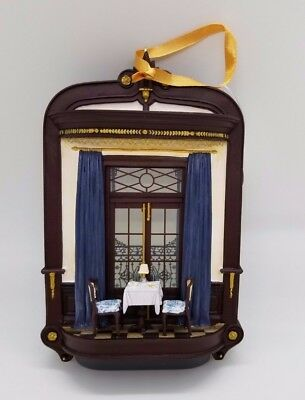 CLUB 33 NEW 2017 Balcony/Dining Room Ornament Disney DISNEYLAND EXCLUSIVE RARE