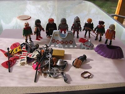 Playmobil Medieval Knights, Figures, Weapons, Accessories, Lot 3125