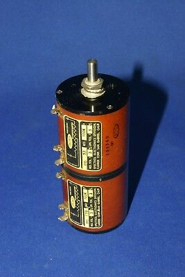 Spectrol Precision Potentiometer Dual Ganged 100K Pot Tested Vintage Usa