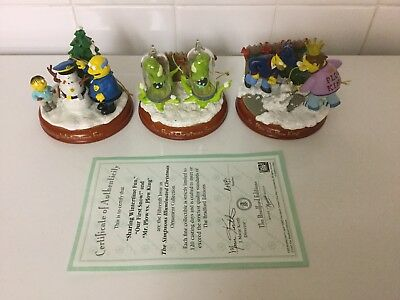 Bradford Editions The Simpsons Ornaments