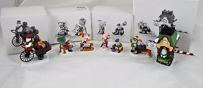 DEPARTMENT 56 Lot of 4 Accessories Holiday Deliveries End of Line Candy Cane Elf