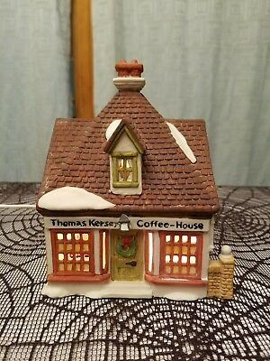 Dept 56 Dickens Village Building Lot, 8 houses,  Limited and Retired