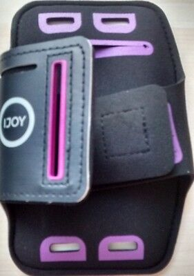 "iPhone 5 & 6 Mens Armband & Mobile Phones up to 3.5"" Run Jog Gym Phone Music"