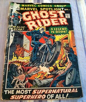 Marvel Spotlight #5 1st appearance of The Ghost Rider -