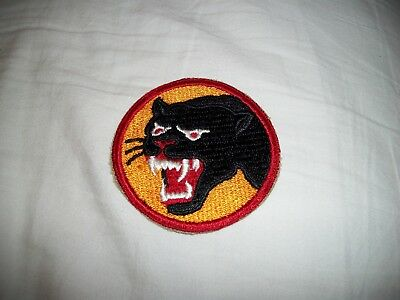 2-MINT WW2 WWII US Army 66th Infantry Division Black Panther Div Patch early one