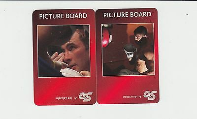Boxing : Famous Boxers : UK sports game card group - red back (2 cards)