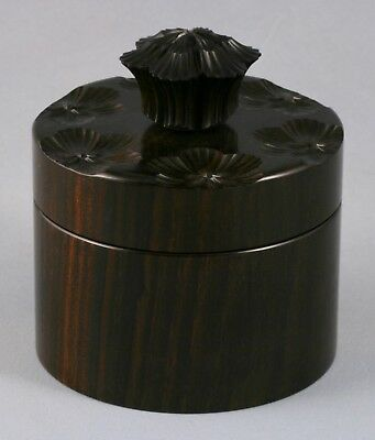 Ornamental Turning, Rose Engine Turned Box, Woodturning, Exotic Wood Trinket Box
