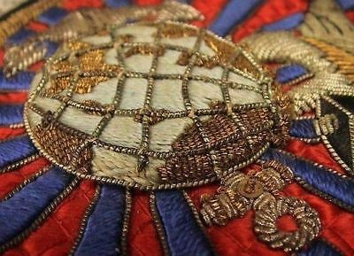 "Rare Bullion Usmc Marine Recon Sqdrn ""One"" ""Fit For A King"" Thick Pure Art Patch"